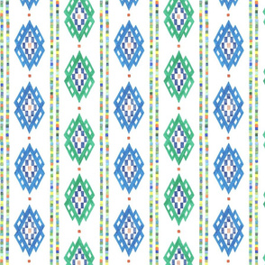 Romanian Diamond Stripe