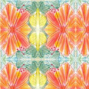 Hand Drawn Hibiscus
