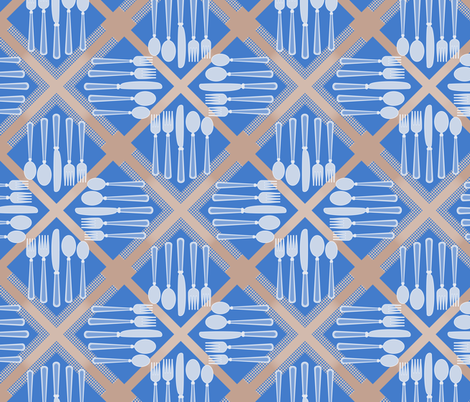 Tableware in Blue
