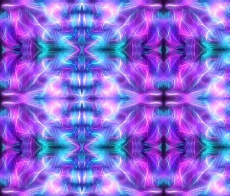 Aurora in Blue, Purple fabric by charldia on Spoonflower - custom fabric