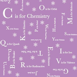 C is for Chemistry (Purple)