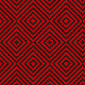 Red and Black tilted stripes