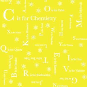 C is for Chemistry (Yellow)