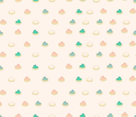 Mint Peach Iced Gems