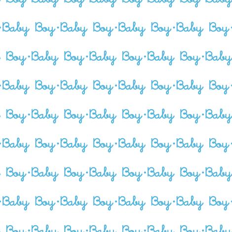Baby Boy Stripe (White) fabric by robyriker on Spoonflower - custom fabric