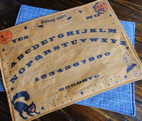 Talking Board Cut & Sew Placemat