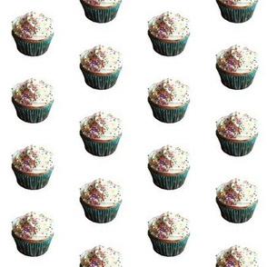 blue cup cupcake
