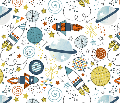 The Trip fabric by addilou on Spoonflower - custom fabric