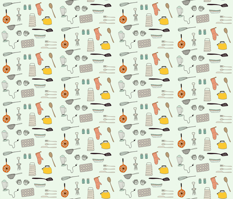 Hip Kitch fabric by katezaremba on Spoonflower - custom fabric