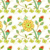 Persian Stylized Flower