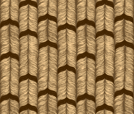 Mustache Rope fabric by elramsay on Spoonflower - custom fabric