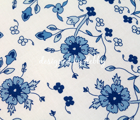 Persian Floral in Blue