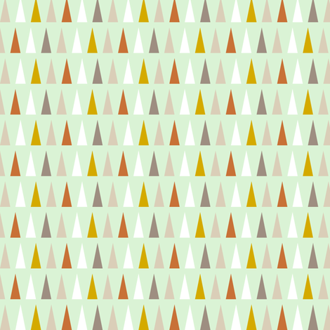 Moroccan Triangles fabric by mrshervi on Spoonflower - custom fabric
