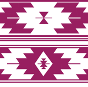 solid berry kilim