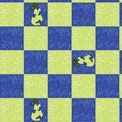 Pear-Checkerboard-with-Pear