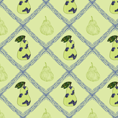 Pear-Crosshatch