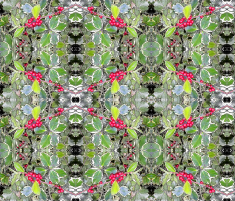 Holly  fabric by koalalady on Spoonflower - custom fabric