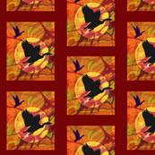 Birds in Sillhouette
