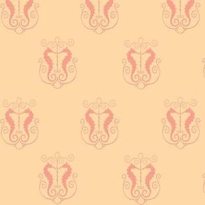 Dreamsicle seahorses