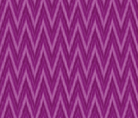 Plum Purple Chevron fabric by bohemiangypsyjane on Spoonflower - custom fabric