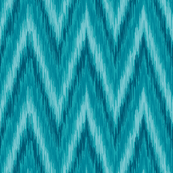 Island Blue Chevron