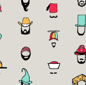 Hats, Beards, and Mustaches