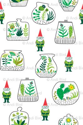 Terrarium and Gnomes too