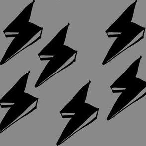 Lightning - grey