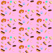 Pastries (pink)