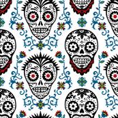 sugar skull voodoo