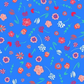 Space Folk Floral