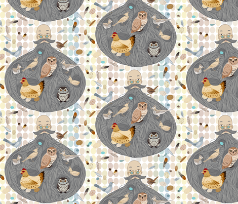 As I Feared fabric by stitchyrichie on Spoonflower - custom fabric