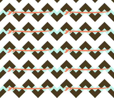 surfboard_spreadchevron fabric by arm_pillozzz on Spoonflower - custom fabric