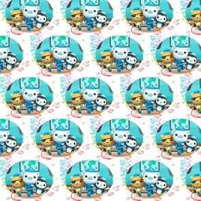 octonauts in bubbles