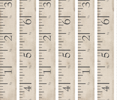 Measuring Tape Upholstery fabric by nightgarden on Spoonflower - custom fabric