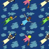 Peter Pan Flying