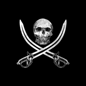 Jolly Roger Pirate Flag ~ Blackmail and Bone