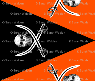 Jolly Roger Pennants ~ Halloween