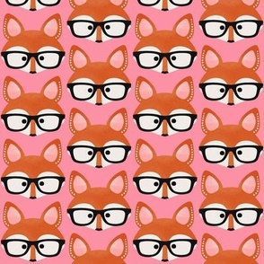 Too cute fox pink
