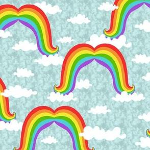Mustache Rainbows