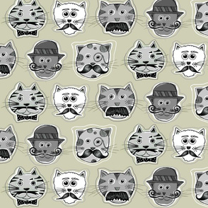 Meowstaches