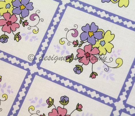 Spring floral squares