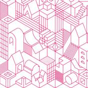 Hex City--pink