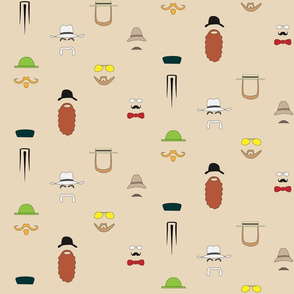 beards_and_moustaches_tan_background