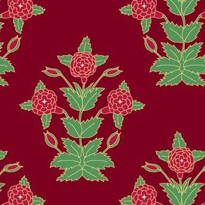 Ancient Carpet Flower I.