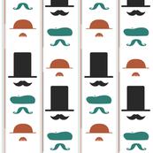 Mustacheo Striped