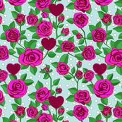 Vintage Rose Sky