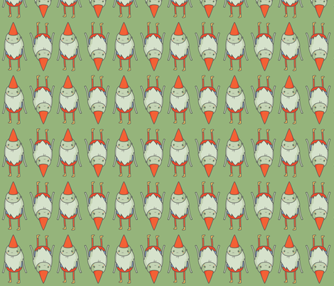 gnome one like you fabric by annaboo on Spoonflower - custom fabric