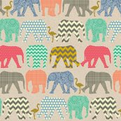 Rlinen_baby_elephants_and_flamigos_st_sf_shop_thumb