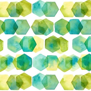 hex-pattern-blue-and-green
